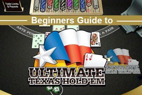 Ultimate Texas Holdem Strategy - Ultimate texas holdem
